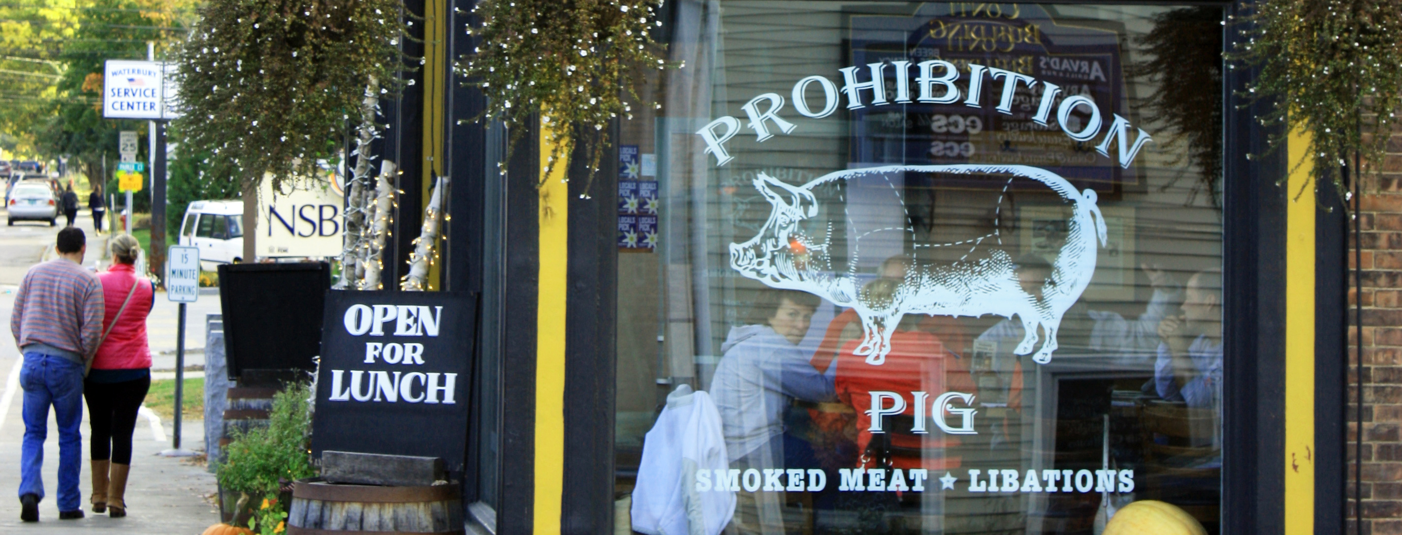 Prohibition Pig Waterbury Vermont Travel Like A Local